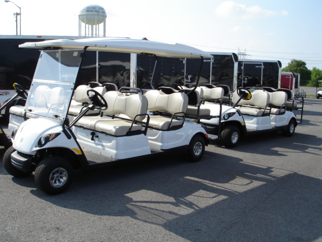 Yamaha Drive 6 Passenger Concierge car TN Golf Cars