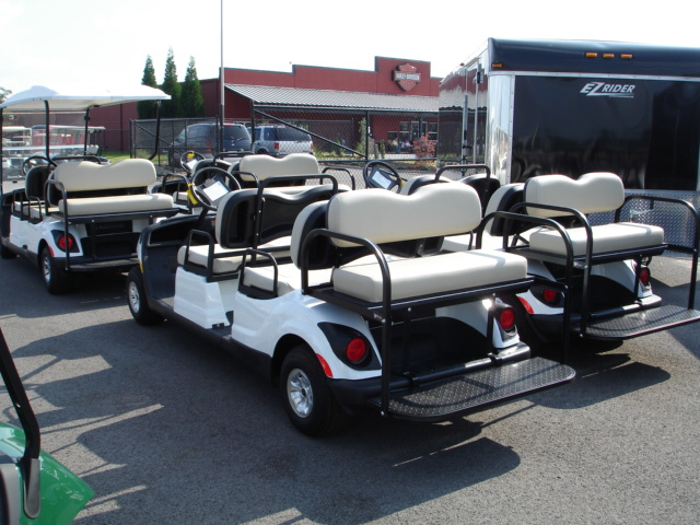 Yamaha Drive 6 Passenger Concierge car TN Golf Cars