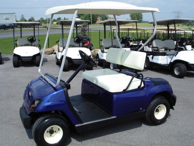 New Yamaha Gas Golf Cart