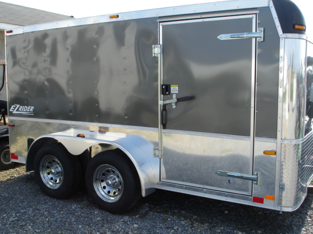 Homesteader Enclosed Trailer EZ Rider Cargo Trailers
