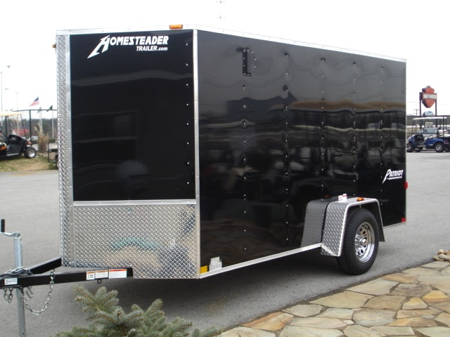 Patriot V Nose Motorcycle Enclosed Trailer   Cargo Trailers