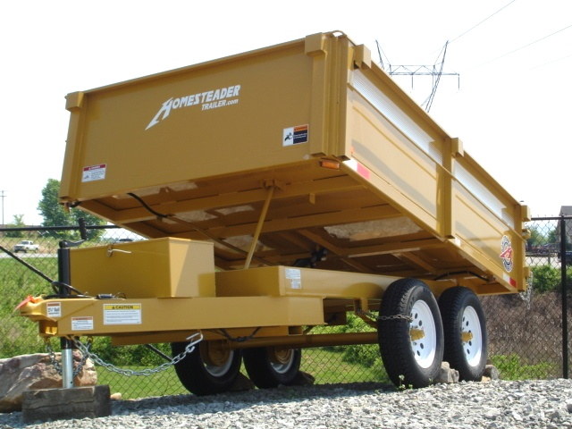 6 X 10  Homesteader Dump Trailer Call 865-984-4003 Cargo Trailers