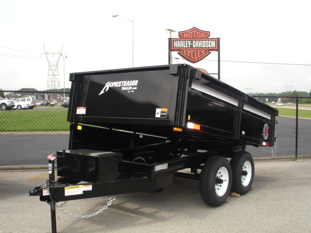 Homesteader Dump Trailer 6X10 MB Cargo Trailers