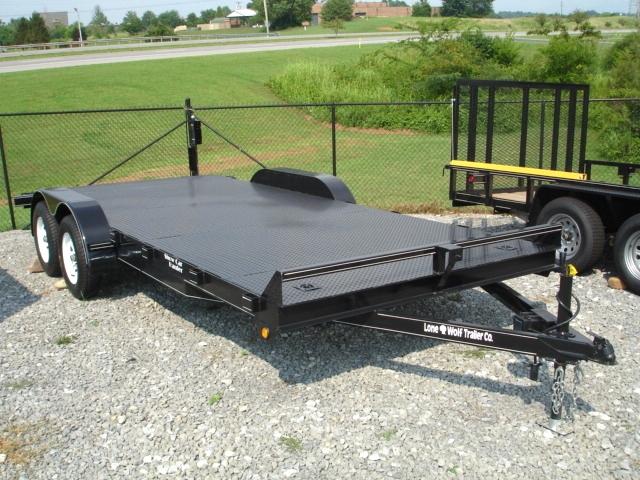Lone Wolf Steel Floor Show Car Hauler Cargo Trailers