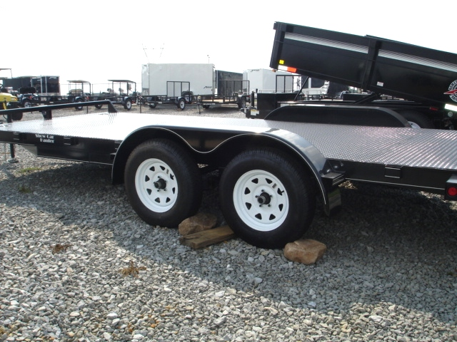 Cargo Trailers Lone Wolf Steel Floor Show Car Hauler Trailers - Show car trailer