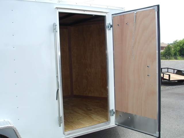 Homesteader 7 X 12 Enclosed Caro Trailer Ramp Door Pkg Cargo Trailers