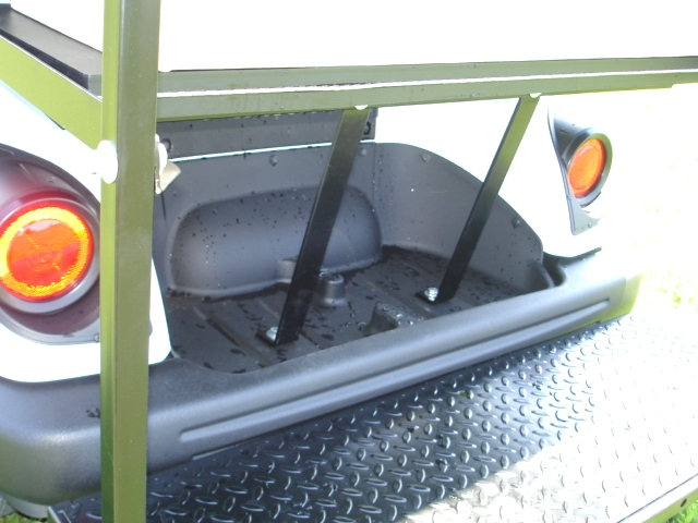 Yamaha Concierge 4-Passenger with Rear Facing Seat TN Golf Cars