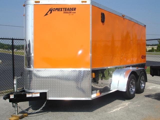 Homesteader EZ Rider Enclosed Trailer Cargo Trailers