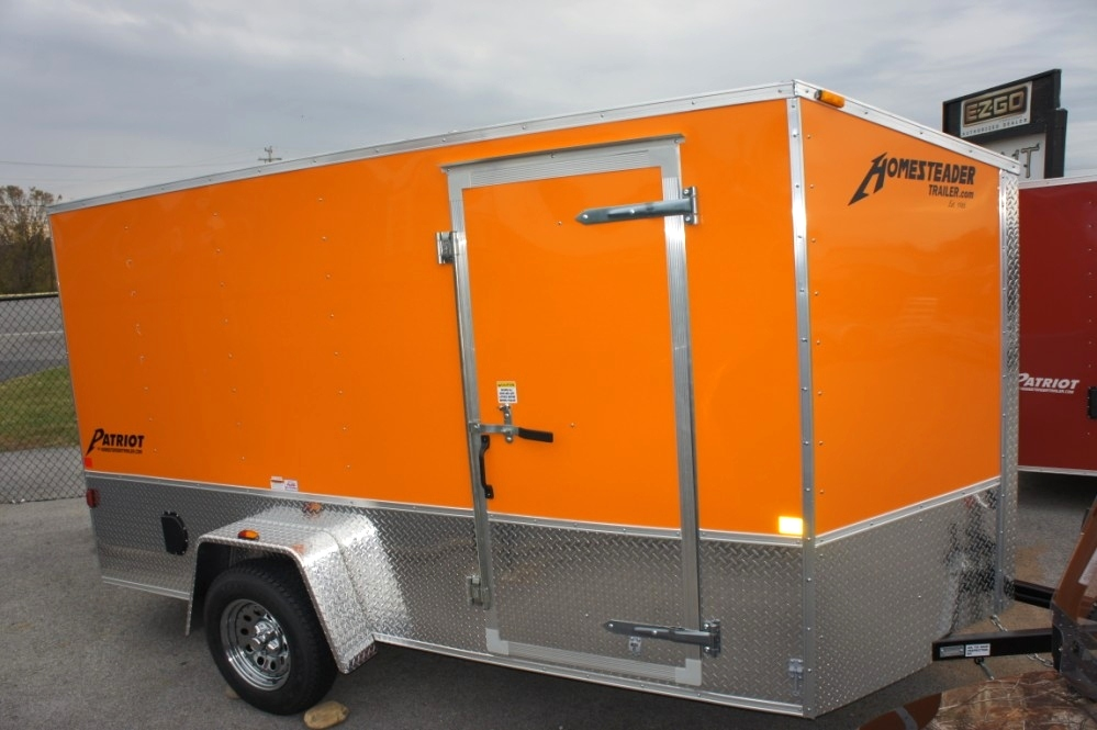 Homesteader 6 X 12 PS Patriot Enclosed Trailer Cargo Trailers