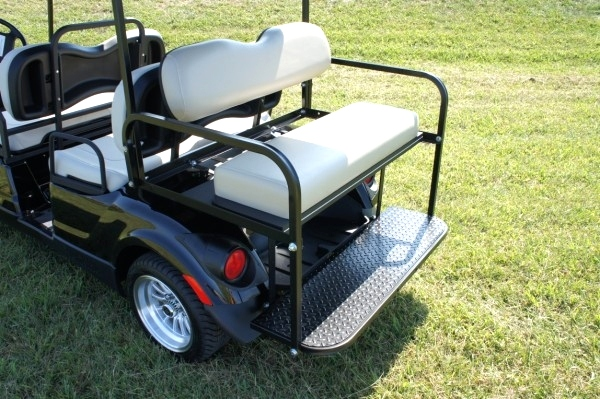 Yamaha 6Passenger Golf Cart Custom Wheels & Top   Sold TN Golf Cars