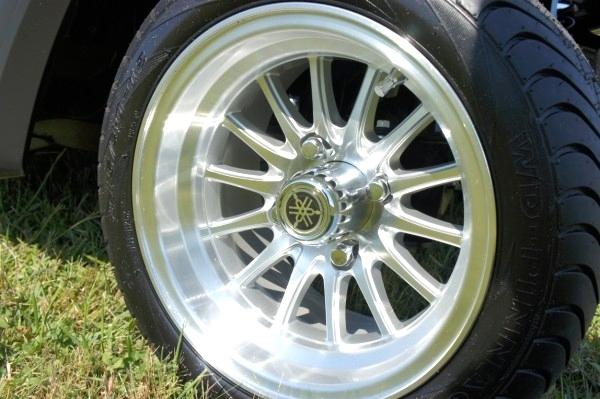Yamaha 6Passenger Golf Cart Custom Wheels & Top   Sold TN Golf Cars