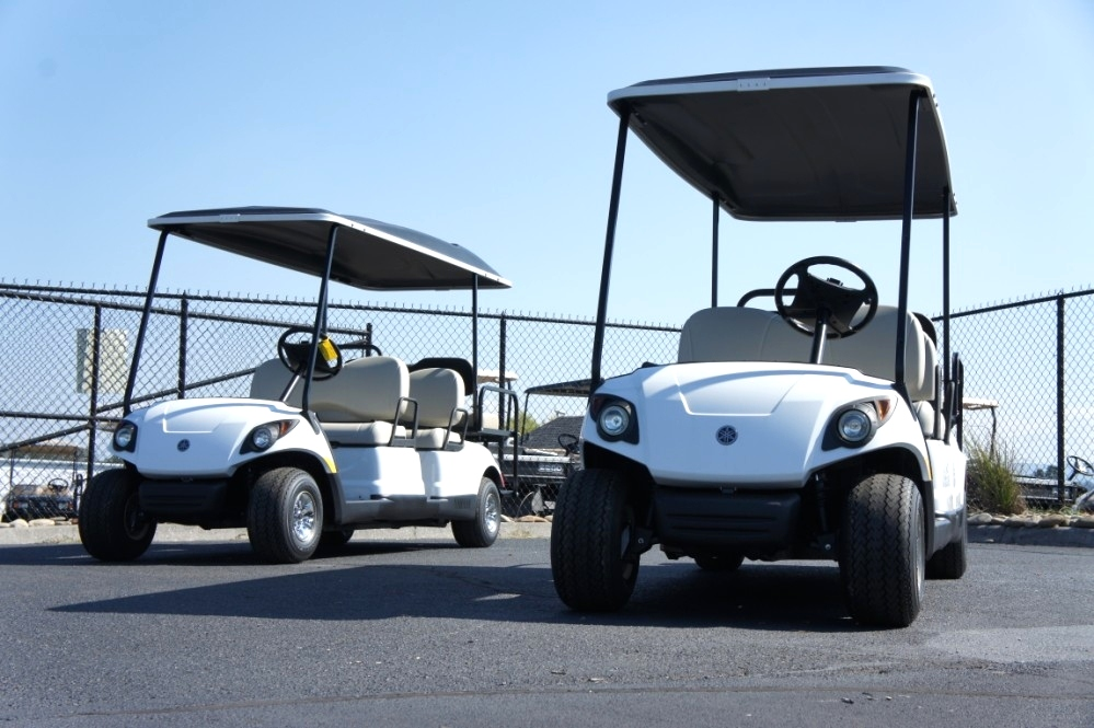 6 Passeneger Gas Yamaha Golf Car  Sold TN Golf Cars