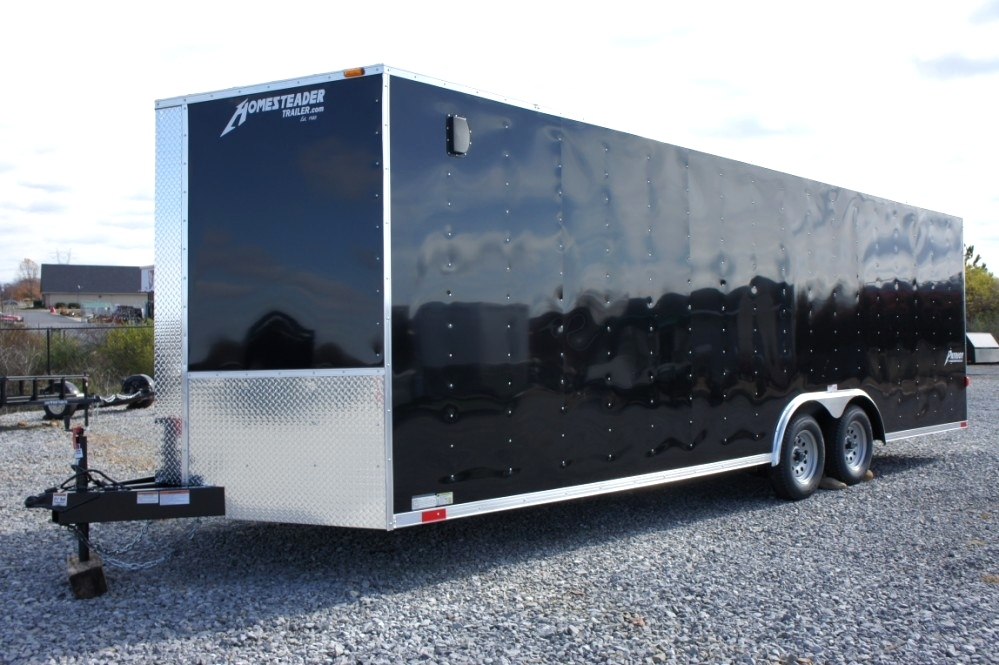 Homesteader 20 X 8.5 Enclosed Trailer Cargo Trailers