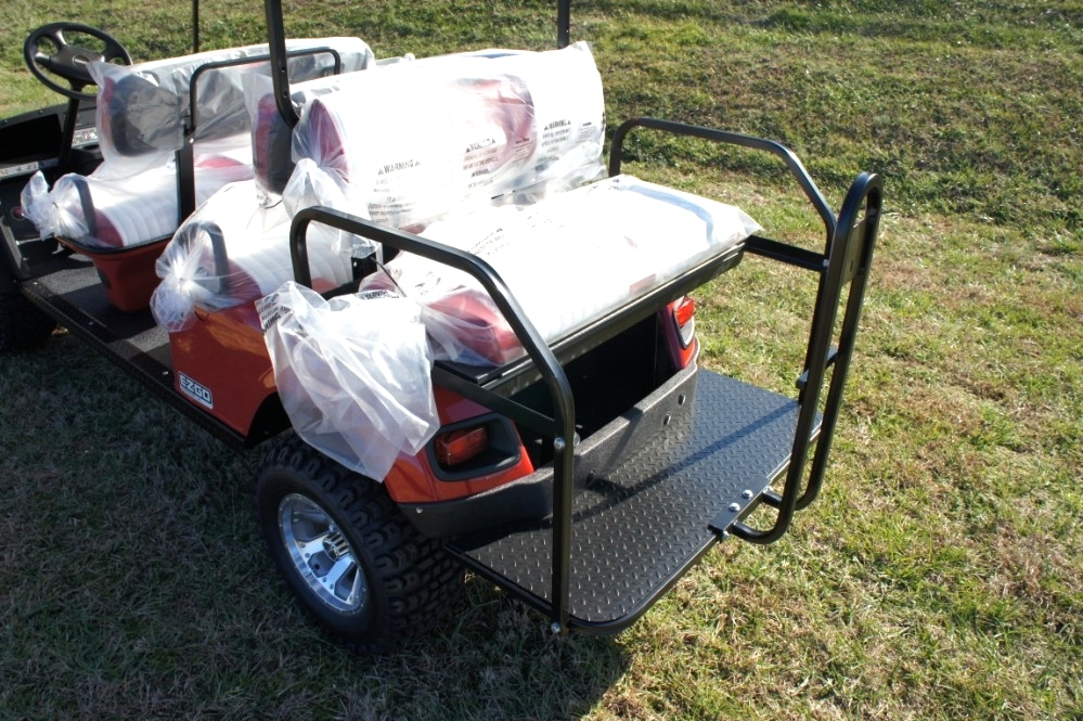 EZGO Express L6 6 Passenger Car 2 Year Warranty TN Golf Cars