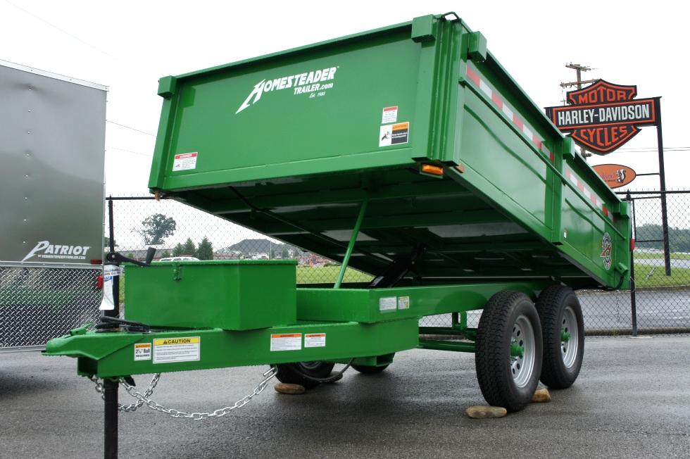 Homesteader 6 X 10 LB Dump Trailer New  Cargo Trailers