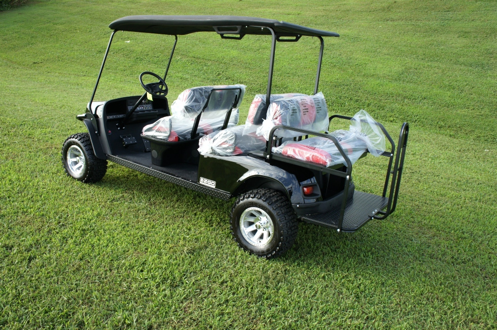 EZGO Express L6 6 Passenger Car 2 Year Warranty  TN Golf Cars