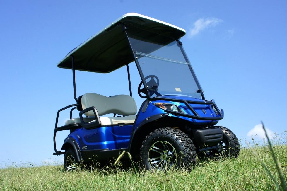 Yamaha Adventure 2 + 2 EFI Four Passenger Golf Car Utility Cart TN Golf Cars
