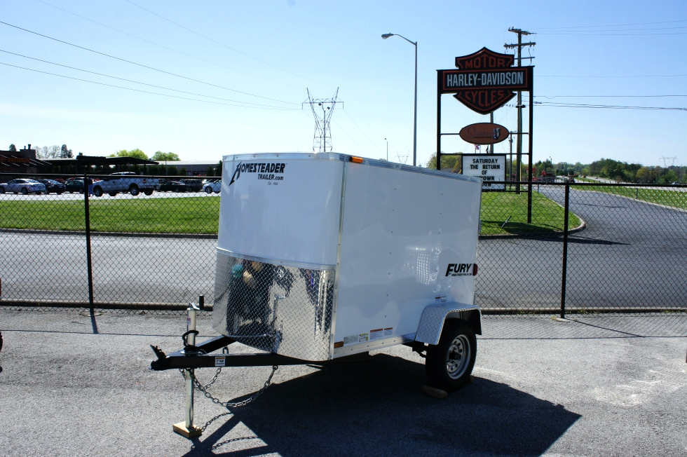 4 X 6 Homesteader Fury Enclosed Trailer Cargo Trailers