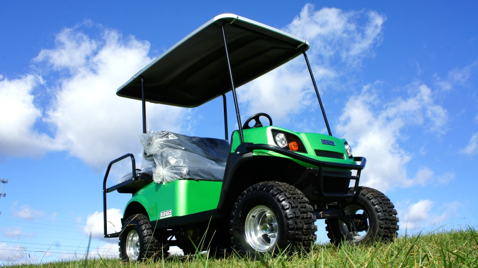 EZGO Express S4 Gas Golf Cart TN Golf Cars