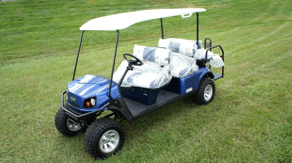 EZGO Express 6 Passenger Golf Cart L6 TN Golf Cars