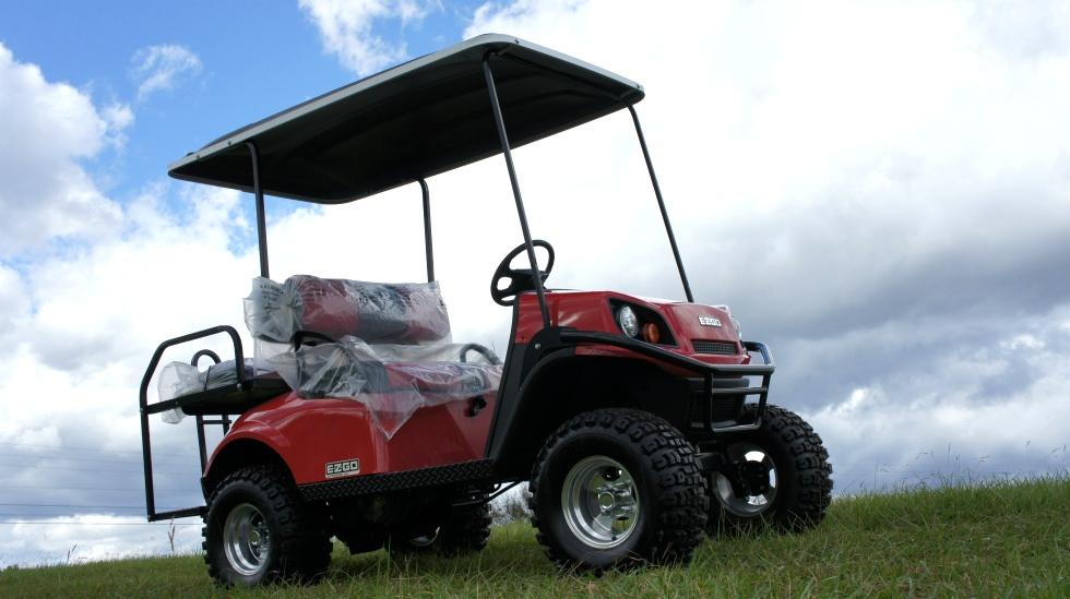 2017 EZGO Express S4 Gas Golf Cart TN Golf Cars