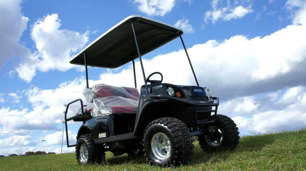2017 EZGO Express S4 Gas Golf Cart TN Golf Cars