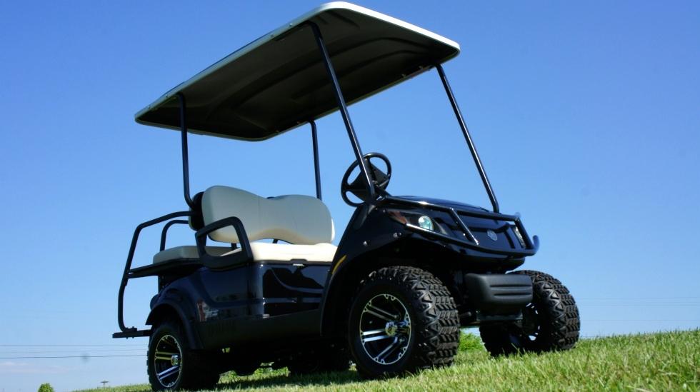 Yamaha Adventure 2 + 2 EFI  Gas  Golf Car Utility Cart TN Golf Cars