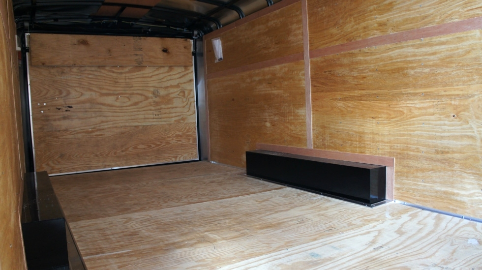 8.5 X 20  Wide Hercules Homesteader Enclosed Equipment Trailer In Stock Ready to Go Cargo Trailers