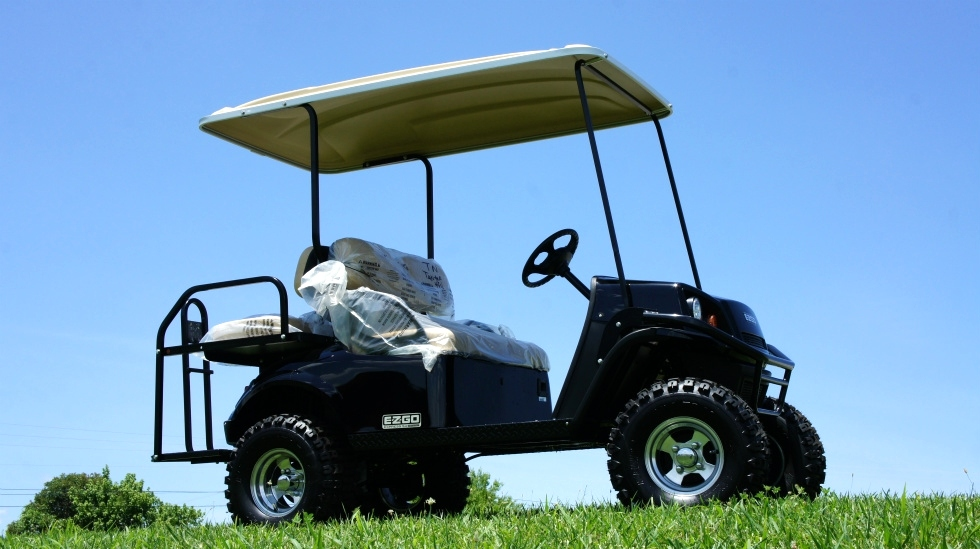 EZGO Express  S4 HO High Output 48 Volt Golf Cart TN Golf Cars