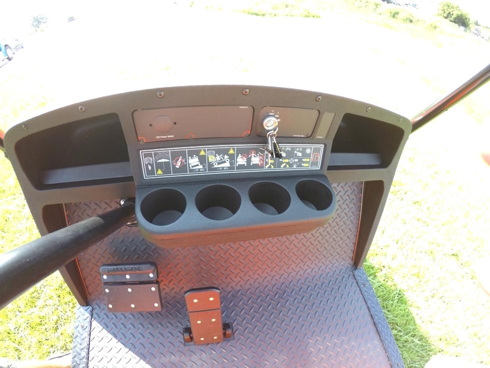 EZGO Terrian 250 Utility Cart Golf Car New Alum Wheel Pkg  TN Golf Cars